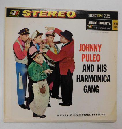 Johnny Puleo And His Harmonica Gang LP (NM/VG+) USA