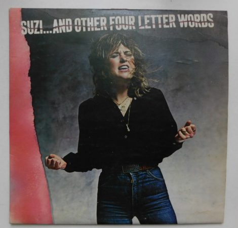 Suzi Quattro - Suzi and the four letter words LP (VG+/VG) JUG