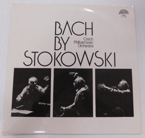 Bach By Stokowski - Czech Philharmonic Orchestra LP (NM/EX) CZE.