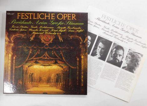 Festliche Oper (Berühmte Arien-Große Stimmen) 3xLP(VG+/VG+)GER.