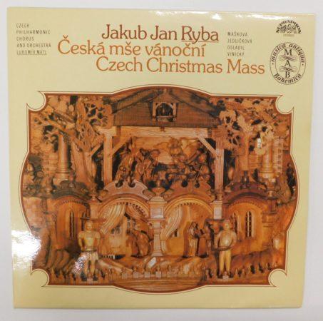 Ryba, Czech Philharmonic Chorus - Czech Christmas Mass LP + inzert (EX/EX)