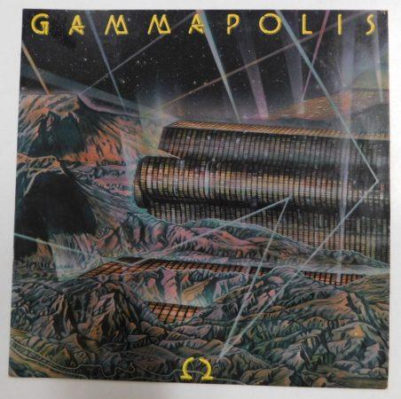 Omega - 9. - Gammapolis LP (EX/EX)