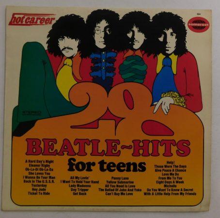 John Hamilton Band - 28 Beatle-Hits For Teens LP (VG+/VG+) GER