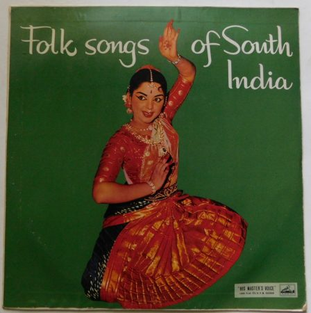 Folk Songs of South India LP (EX/VG+) IND