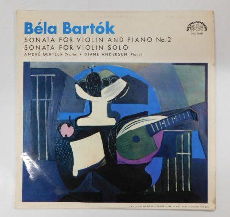 Béla Bartók - Sonata For Violin And Piano No.2 LP (EX/VG) CZE.