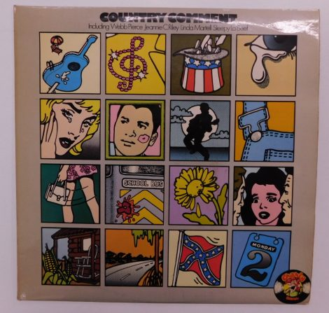 V/A - Country Comment LP (EX/VG+) UK.