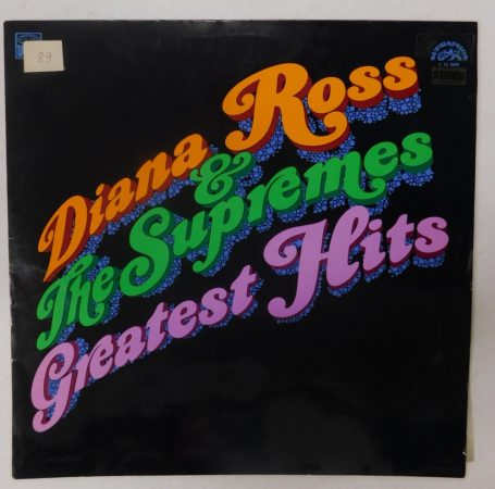 Diana Ross And The Supremes - Greatest Hits LP (VG+/VG+) CZE