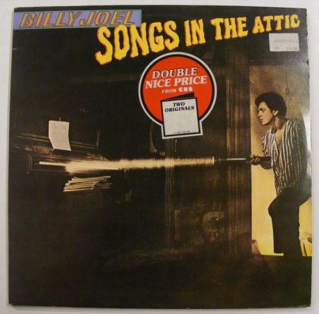 Billy Joel: Songs in the Attic / Piano Man 2LP (EX/EX) HOLL
