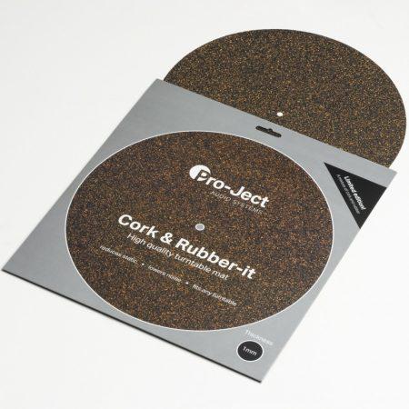 Pro-Ject Cork and Rubber it LP lemezalátét - parafa-gumi keverék 1mm / 3mm
