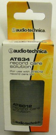 Audio-Technica AT634 lemeztisztító folyadék 60ml (AT6012-es tisztítószetthez) - ELŐRENDELÉS