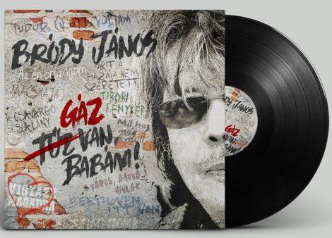 Bródy János - Gáz Van, Babám! LP (új, 2020, GrundRecords)