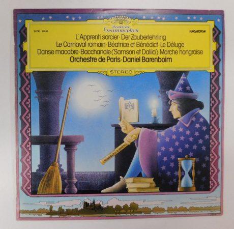 Daniel Barenboim,Orchestre De Paris - Französische Orchesterstücke LP(NM/VG+)HUN