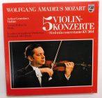 W. A. Mozart - A.Grumiaux - A.Pelliccia - London Symph. Orch. - 5 Violinkonzerte + Sinf. Concertante KV 364 3xLP (NM/VG) GER