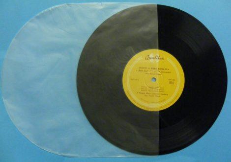 Katta 10inch antisztatikus belső fólia / gramofonlemezekhez is (lekerekített)