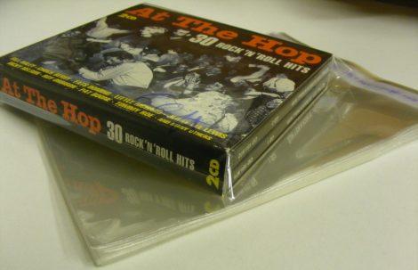 Katta visszazárható borítóvédő fólia dupla/tripla lemeztokokhoz / CD-Boxokhoz 170x137 + 60mm zárófül