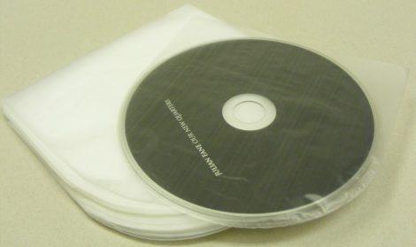 Japán antisztatikus CD belső fólia - Katta - 123 x 125mm (hasonló a Nagaoka fóliákhoz)