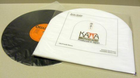 Hanglemez belső fólia Japánból Katta