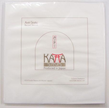 Japán antisztatikus LP belső fólia - Katta - 50mikron - négyzet alakú - 305x309mm