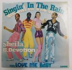 Sheila B. Devotion - Singin In The Rain LP (VG+/VG) YUG.