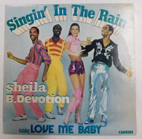 Sheila B. Devotion - Singin In The Rain LP (VG+/VG) YUG.