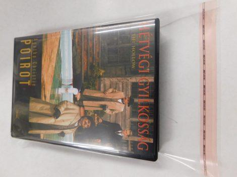 DVD - zárható védőfólia - 167x206mm + 58mm-es zárófül