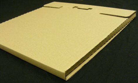 LP / 12inch szállítókarton 1-3db. lemezhez - 325x325x12mm