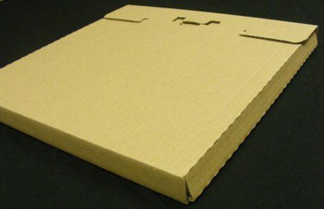 LP / 12inch szállítókarton 3-6 db. lemezhez - 325x325x20mm