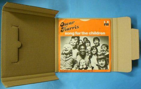 7inch / kislemez szállítókarton 1-5 lemezhez