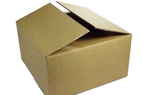 LP / 12inch szállító kartondoboz 4-től 40db lemezig - 330x330x150mm