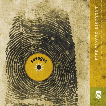 Savages - Five Finger Discount - The Rarity Shop Expansion 2xCD (új, 2018)