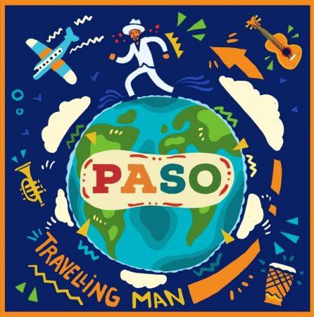 Pannonia Allstars Ska Orchestra - Travelling Man 2020 (Új, 12 inch, 45 RPM, zöld) PASO