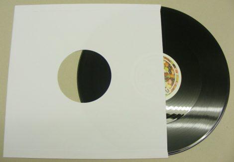 LP papírtasak fólia nélkül - fehér - 90gr. - extra vastag - ELŐRENDELÉS - Várható beérkezés máj.20
