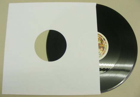 LP papírtasak fólia nélkül - fehér - 90gr. - extra vastag