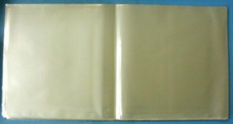 Dupla LP hanglemez borítóvédő CPP fólia kinyitható / gatefold borítókhoz