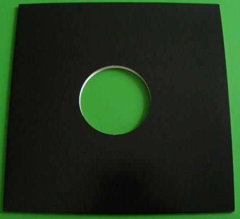 LP / 12inch kartonborító fekete, lyukas - ELŐRENDELÉS - Várható beérkezés máj.20