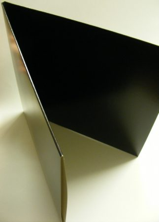 LP/12inch kartonborító dupla LP-khez fekete kinyitható gatefold - Deluxe