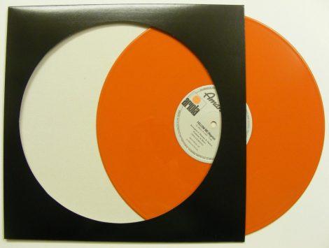 LP Picture Disc kartontok fekete - képlemezek számára