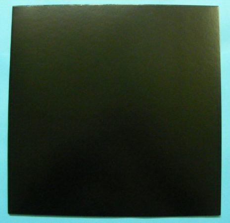 LP/12inch kartonborító teli fekete