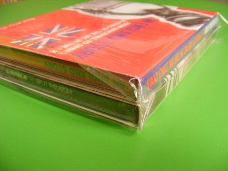 CD tok védőfólia zárható (dupla/tripla vagy vastagabb tokokhoz) 150 x 150mm + 40mm zárófül / 50 mikron