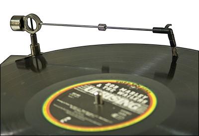 Analogis száraztisztító kar hanglemezekhez - föld kábellel