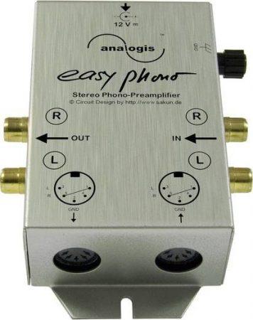 Analogis Easy Phono - lemezjátszó phono előerősítő RIAA