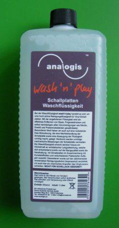 Hanglemez tisztító folyadék 1L kézi lemeztisztító szetthez - Analogis wash'n'play