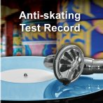 Lemezjátszó Anti-Skating beállító teszt lemez