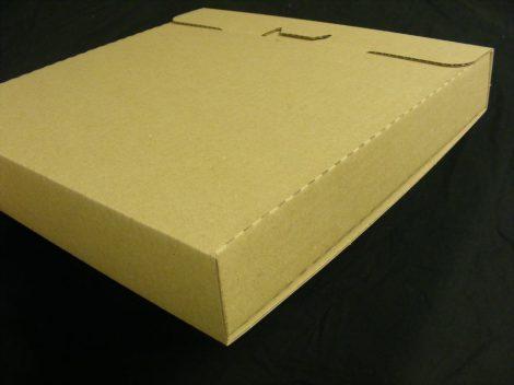 LP / 12inch szállítókarton 6-10 db. lemezhez - 325x325x45mm