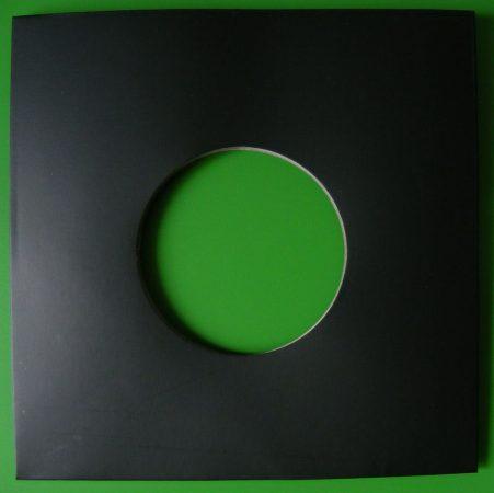7inch kislemez kartontok - fekete - 185 x 185mm
