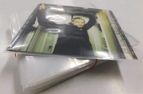 CD külső fólia CD tokok tartalmához (borító+CD, tok nélkül!)