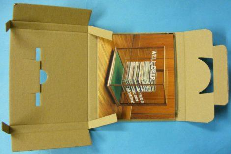 CD szállítókarton 1 lemezhez