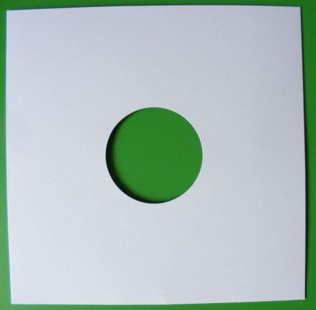 Fehér 10inch kartontok (gramofonlemezekhez is)