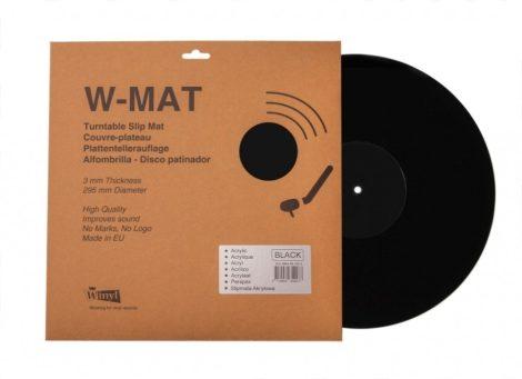 Winyl W-Mat lemezalátét fekete akril 3mm