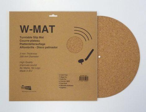 Winyl W-Mat lemezalátét parafa 3mm